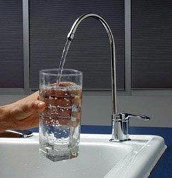 Установка фильтра очистки воды город Томск