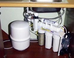 Установка фильтра очистки воды в Томске, подключение фильтра очистки воды в г.Томск