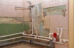 Замена старых труб в квартире, коттедже, на доче, доме, складе, помещении или офисе в городе Томск